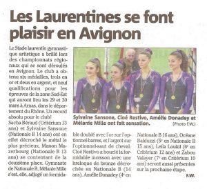 20140311 Avignon championnats régionaux